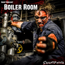 Haunted House Theme Boiler Room