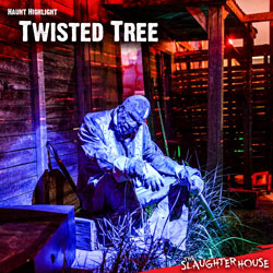 Haunted House Theme Twisted Tree