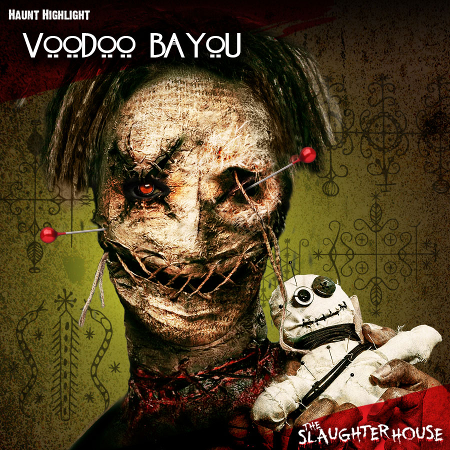 Haunted House Theme Voodoo Bayou